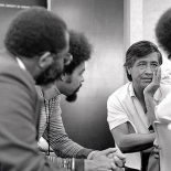 Cesar Chavez Meets With Founders of UDW